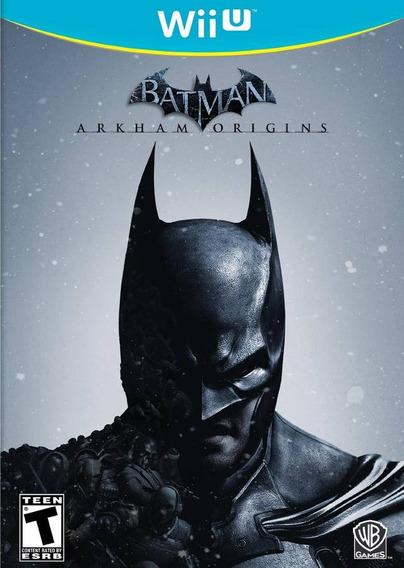 Batman: Arkham Origins - Semi Novo - Wii U - Gamercado