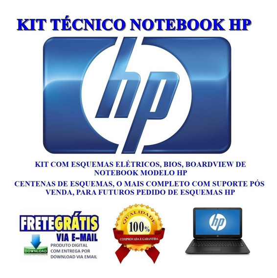 Kit Not Hp ,esquemas, Bios E Boardview Frete Grátis