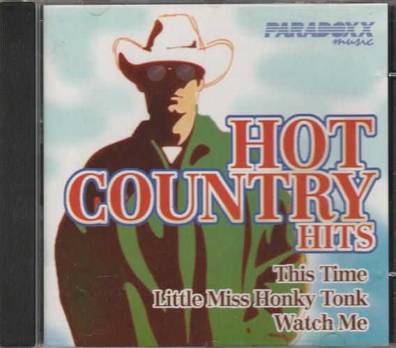 Cd Hot Country Hits - 1999 - Paradoxx