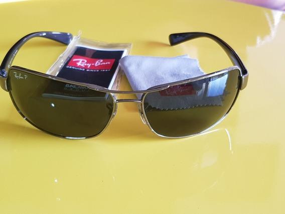 Ray-ban Rb3379 Active Lifestyle Polarized 004/58 Óculos De Sol Original!