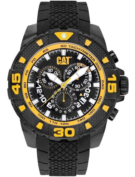 Relogio Caterpillar Dp Sport Black Chronograph Pt16321127