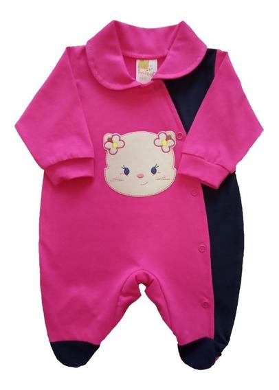 Macacão Bebê Prematuro Menina 100% Algodão