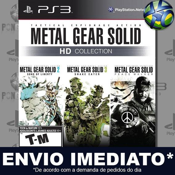 Metal Gear Solid Hd Collection Ps3 Psn Jogo Em Promoção
