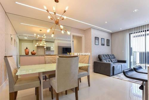 Lindo Apartamento De 3 Quartos, 2 Vagas À Venda No Vila Izabel - Ap3055