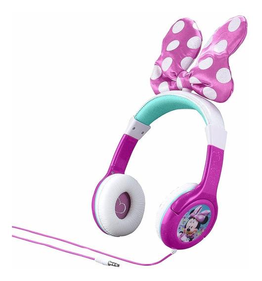 Auriculares Minnie Mouse Con Diadema Ajustable