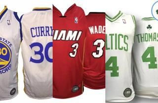 Camiseta Basquet Nba Warriors Miami Heat Celtics Toronto