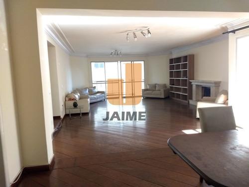 Apartamento Padrão Com 4 Suites E 4 Vagas. - Ja13302