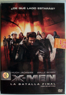 Dvd - X- Men 3 - La Batalla Final