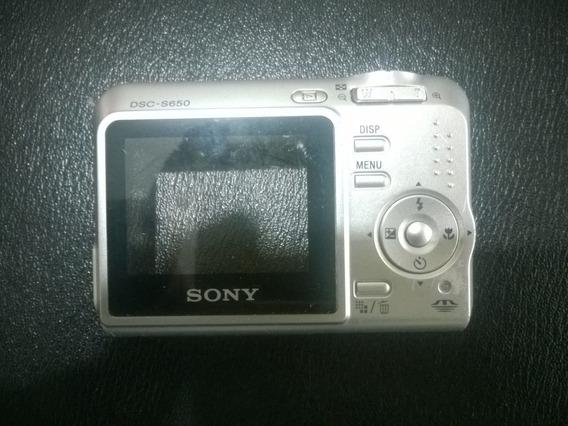 Carcaça Completa Camera Sony Cybershot S650 Prata S 650
