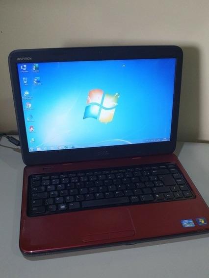 Notebook Dell Inspiron N4050 I5 500gb 4gb Ram Vermelho