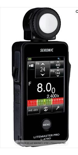 Fotômetro Sekonic L-478d Pro ( Canon , Nikon, Sony Fuji)