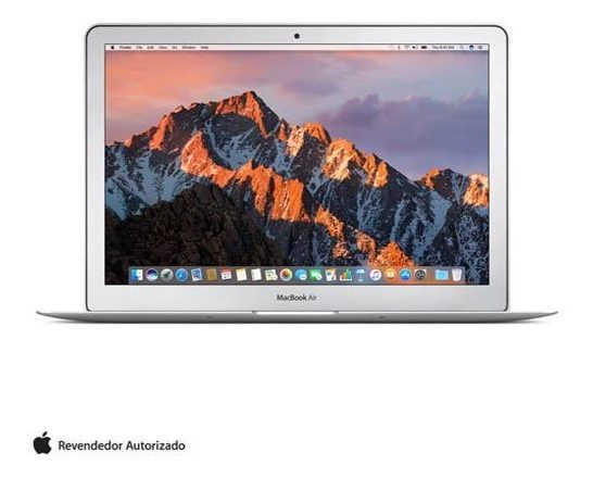 Macbook Air, Intel Core I5,8gb,128gb,tela 13,3 - Mqd32bz/a