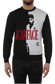 Supreme Scarface Sweater - Split - Sueter Cara Cortada