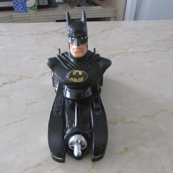 Carro Do Batman Ferro Preto Abre Portas