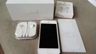 iPhone 5 16gb Prata Completo