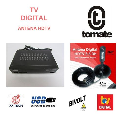 Conversor Digital Tomatemcd 999 Antena Vídeo Musica Fotos Hd
