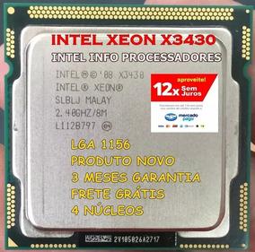 Processador Intel Xeon X3430 X3440 I5 650 X3440 Lga 1156