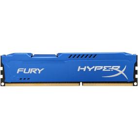 Memoria Ddr3 8gb 1600mhz Hyperx Fury Kingston Azul