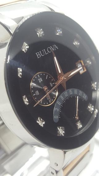 Relógio Bulova Diamond 98d129 - Veja O Vídeo