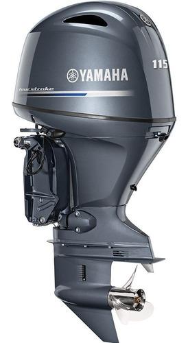 Yamaha Motor F-115 2021 Com Mensais Á Partir De R$ 1.106,00