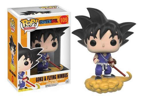 Imagen 1 de 1 de Figura Funko Pop, Goku & Flying Nimbus - Dragon Ball Z - 109