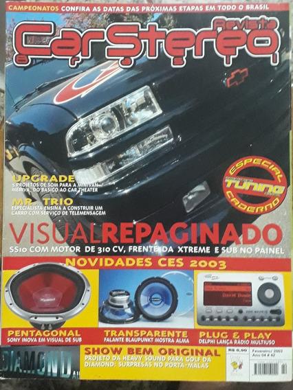 Revista Car Stereo Brasil - Fevereiro De 2003 - N° 42