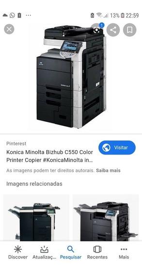 Impressora Konica C550