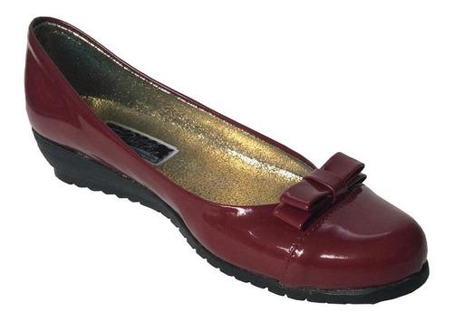 d27032c5 Zapatos Vinotinto Mujer Charol - Ropa y Accesorios en Mercado Libre ...