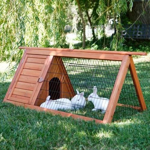 Conejera  Casa De Conejos Jaula De Conejos Conejos