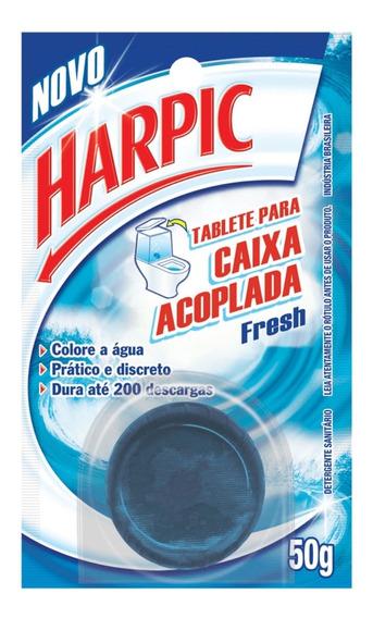 Bloco Sanitário Caixa Acoplada Harpic 50g Azul