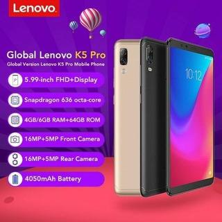 Lenovo Telefone Móvel Global Versão K5 Pro 4gb + 64gb