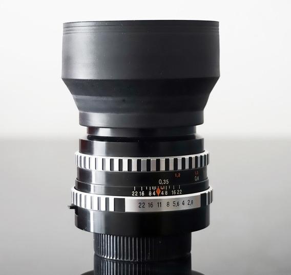 Lente Zeiss Tessar 50mm F2.8 - Encaixe Rosca M42