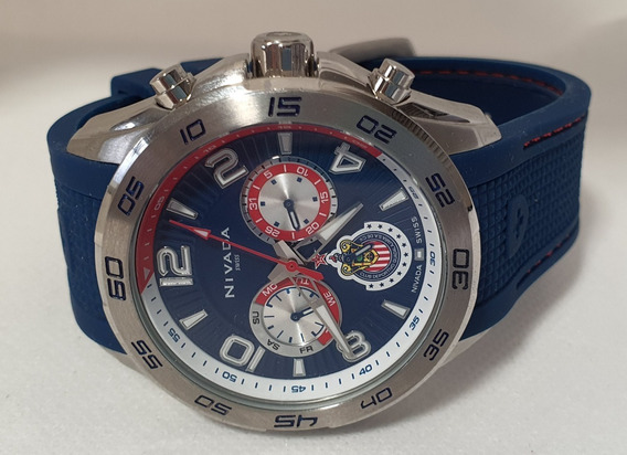 Reloj Nivada Chivas Edición Limitada. Color Azul.