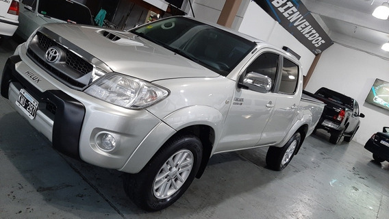 Toyota Hilux 3.0 I Srv Cab Doble 4x4 Cuero 2011 Excelente.!!