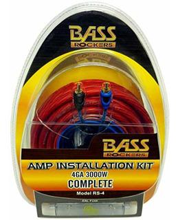 Bass Rockers Kit De Instalación Amplificador