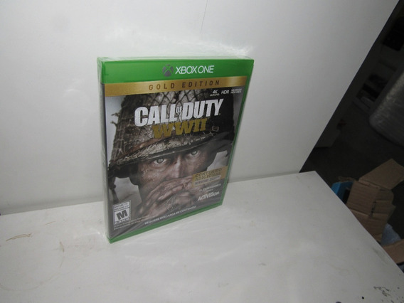 Call Of Duty Wwii Gold Edition Xbox One Mídia Física Lacrado