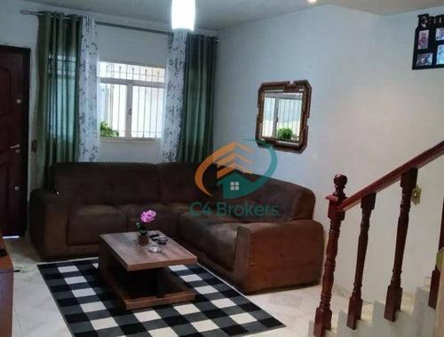 Imagem 1 de 20 de Sobrado Com 2 Dormitórios À Venda, 70 M² Por R$ 375.000,00 - Vila Monte Santo - São Paulo/sp - So0440