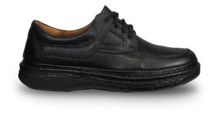 Febo 7005 Zapato Acordonado Graneado Confort Hombre