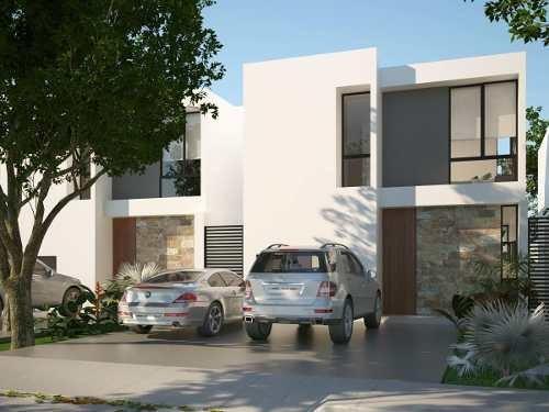 Casa En Venta, Privada En Cholul Cv-6209