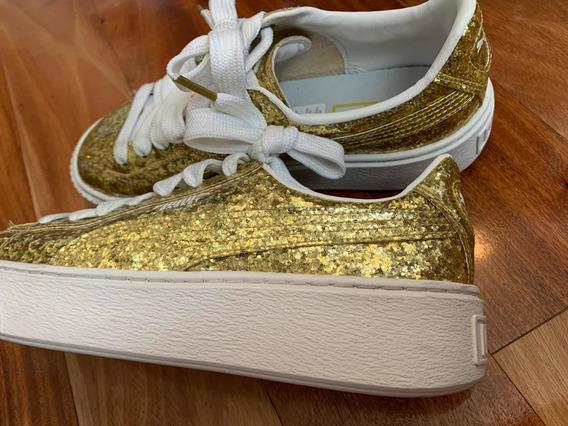 Zapatillas Puma Brillos Mujer