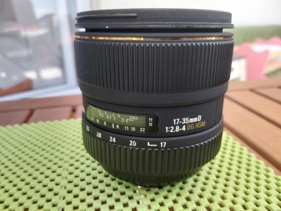 Lente Sigma Nikon 17-35mm F2.8-4 Dg Hsm Ultra Wide