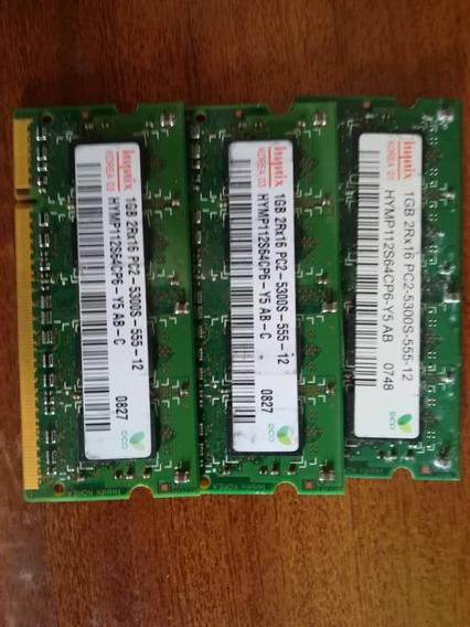 Memoria Ddr2 1gb Pc-5300 Marca Hynix