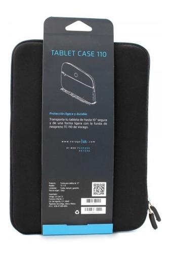 Imagen 1 de 5 de Funda Vorago Neopreno Tc110 Tablet 10 Pulgadas Negro /v /vc