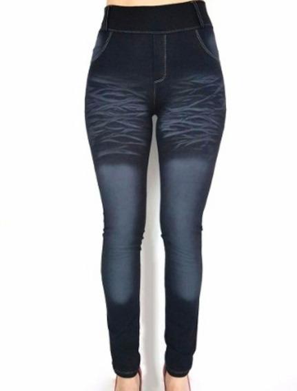 Calzas Símil Jeans Localizada Por Mayor Hasta Talles 1 Al 6 Calce Leggin Precio De Fabrica
