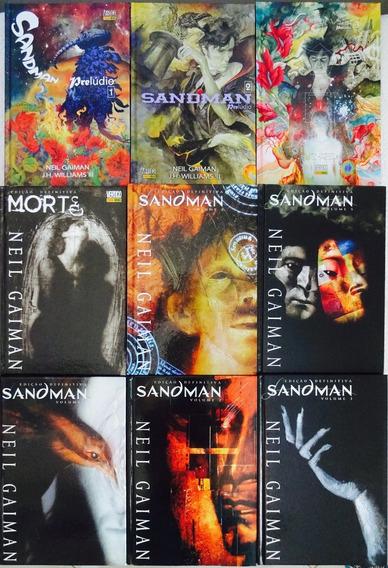 Sandman Edição Definitiva Panini Completo 9 Edições Morte