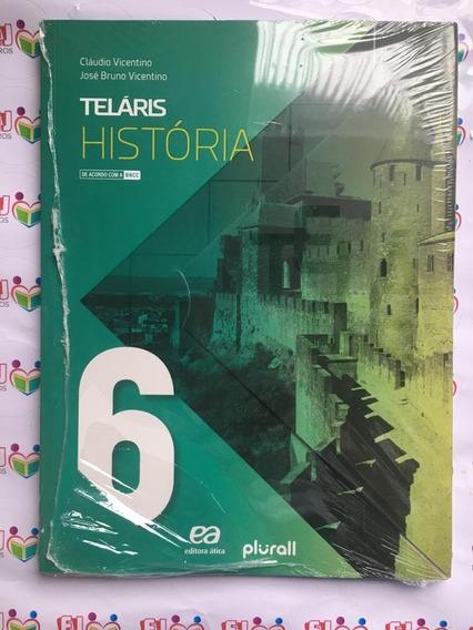 Livro Novo-projeto Teláris - História - 6ª Ano - 3ª Ed. Bncc