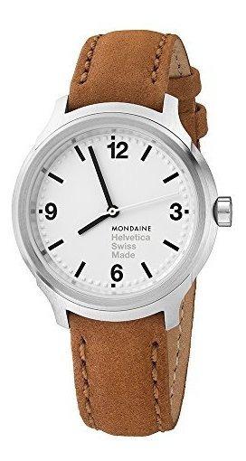Mondaine Helvetica No 1 Reloj De Pulsera Para Hombre (mh1.b3