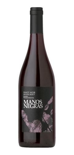 Imagen 1 de 10 de Manos Negras Pintot Noir Red Soil .vino 750ml - Tomate Algo®