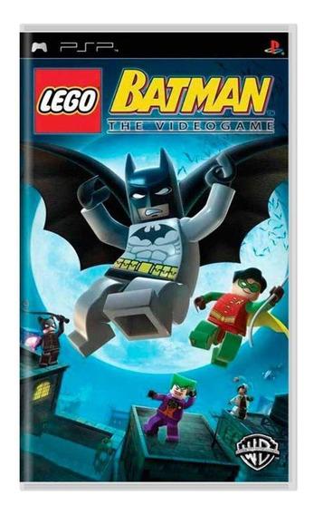 Lego Batman The Videogame Psp Mídia Física Pronta Entrega