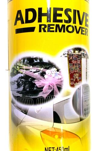 Removedor Adhesivos Stickers Calcomanias Spray Auto 450ml C4
